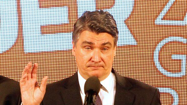 Zoran Milanović, SDP - Sputnik Srbija