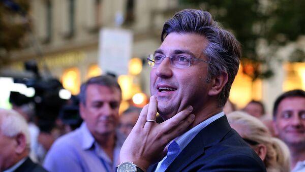 Андреј Пленковић на гласању - Sputnik Србија