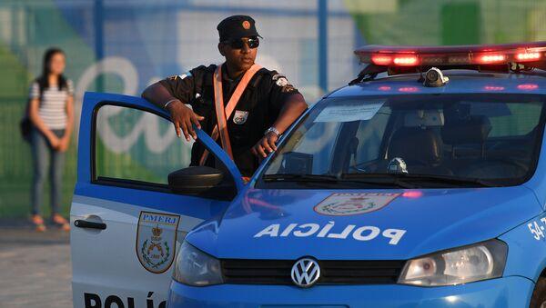 Policija u Rio de Žaneiru, Brazil - Sputnik Srbija