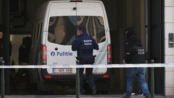 Полиција у Бриселу, Белгија - Sputnik Србија