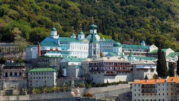 Манастир светог Пантелејмона на Светој Гори - Sputnik Србија