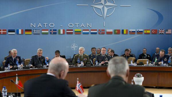 Češki general Petar Pavel na sednici komiteta NATO-a u Briselu - Sputnik Srbija