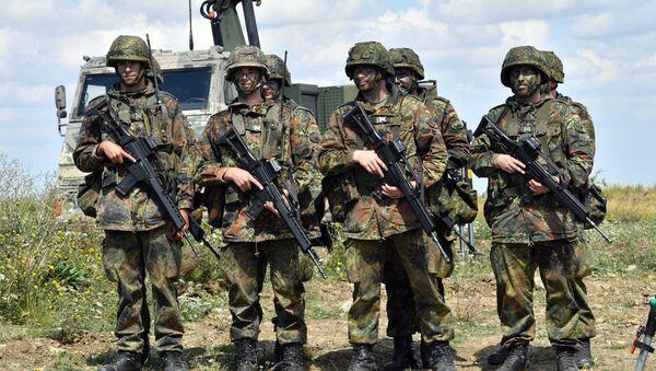 Немачки војници на полигону у Ордруфу. - Sputnik Србија
