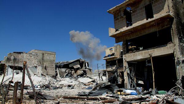 Okrug Ramuseh u južnom Alepu koji je oslobodila sirijska vojska. - Sputnik Srbija