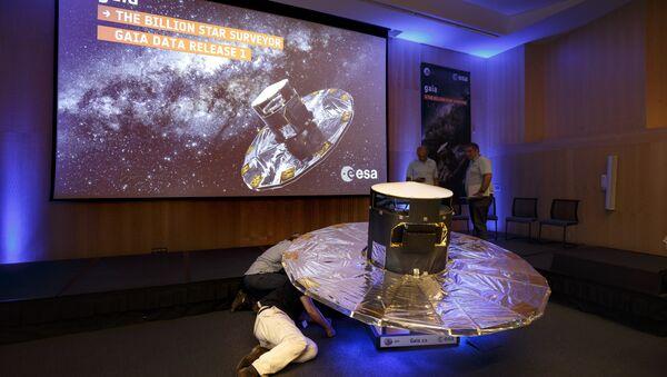 Naučnici pored reprodikcije satelita Geja - Sputnik Srbija