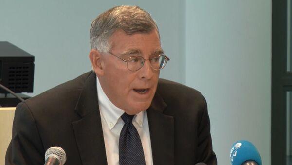 Dejvid Švendiman - glavni tužilac Specijalnog istražnog tima EU za proveru navoda o ratnim zločinima i organizovanom kriminalu na Kosovu - Sputnik Srbija