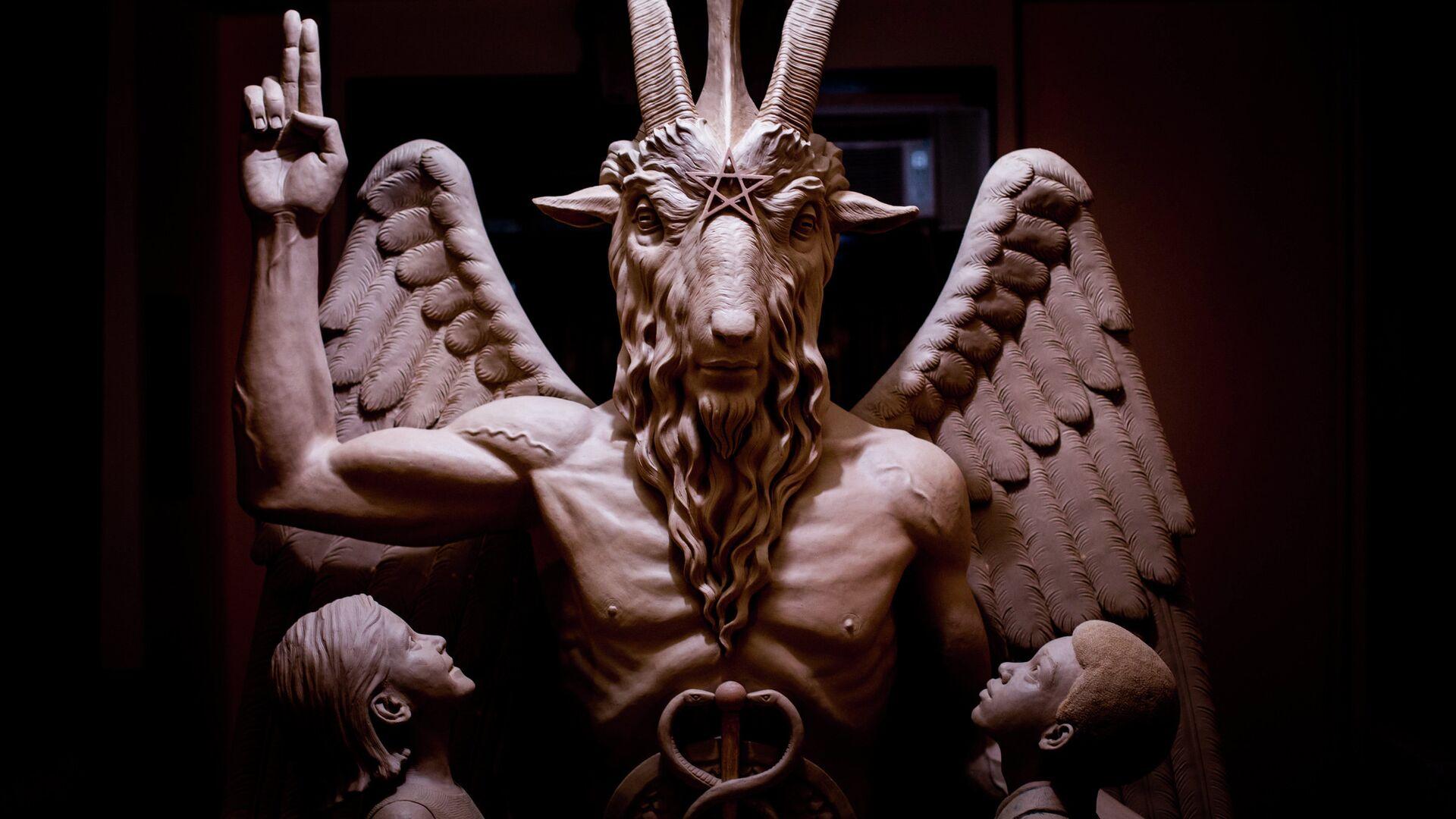 Statua iz hrama satanista - Sputnik Srbija, 1920, 01.08.2021