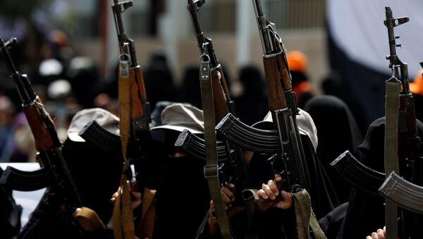 Jemen, pripadnice pokreta Huta - Sputnik Srbija