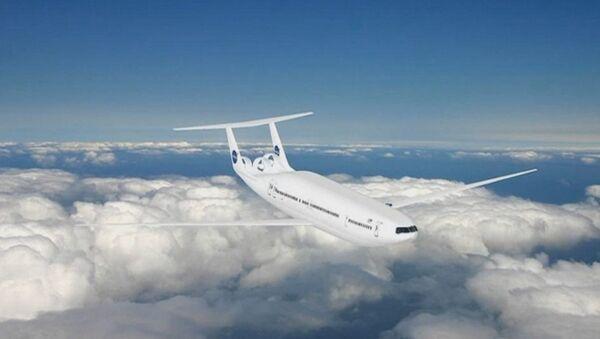 """НАСА у сарадњи са компанијом Aurora Flight Sciences и МИТ развија путнички авион Д8 """"дупли мехур"""" са радикалним најсавременијим технолошким дизајном. - Sputnik Србија"""