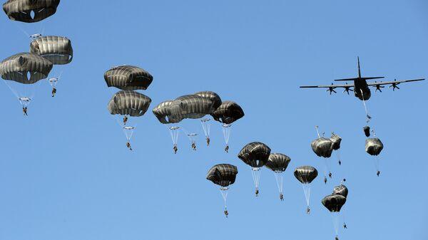 Амерички војници на војној вежби у централној Пољској - Sputnik Србија