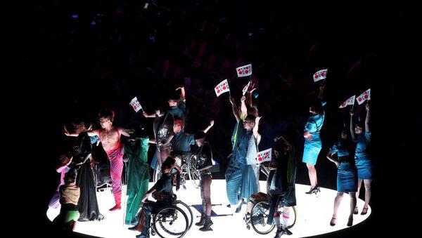 Ceremonija zatvaranja Paraolimpijskih igara u Rio de Ženairu. - Sputnik Srbija