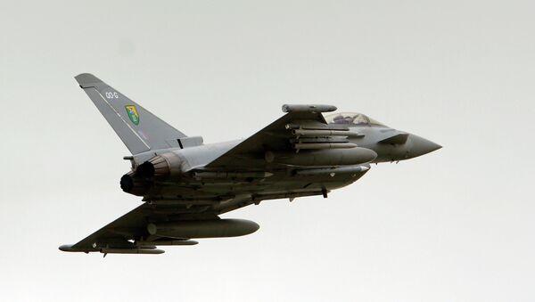 Ловац Тајфун британског ваздухопловства. - Sputnik Србија