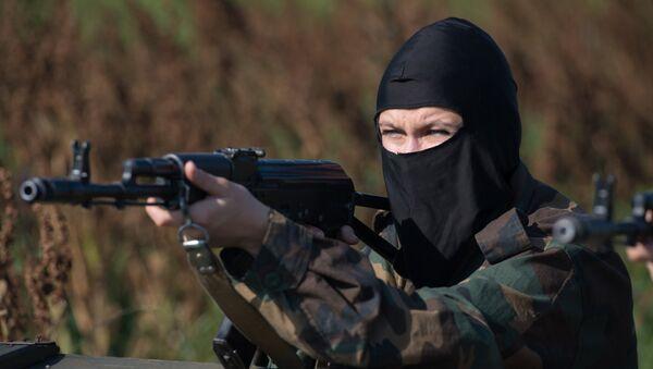Žena pripadnik specijalnih snaga - Sputnik Srbija