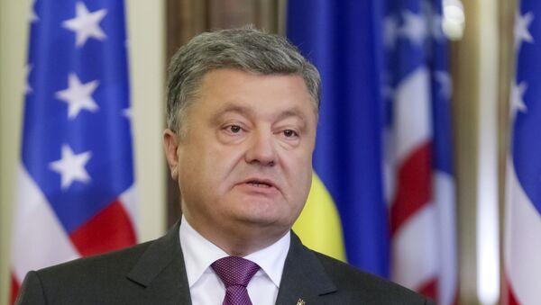 Petro Porošenko u poseti SAD - Sputnik Srbija