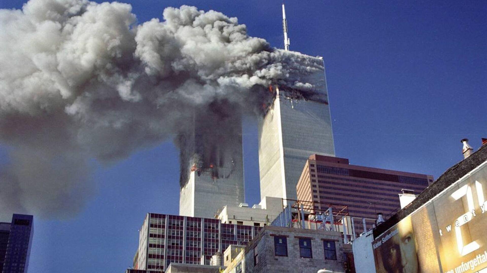 Teroristički napad na Svetski trgovinski centar u Njujorku 11. septembara 2001. godine  - Sputnik Srbija, 1920, 10.09.2021
