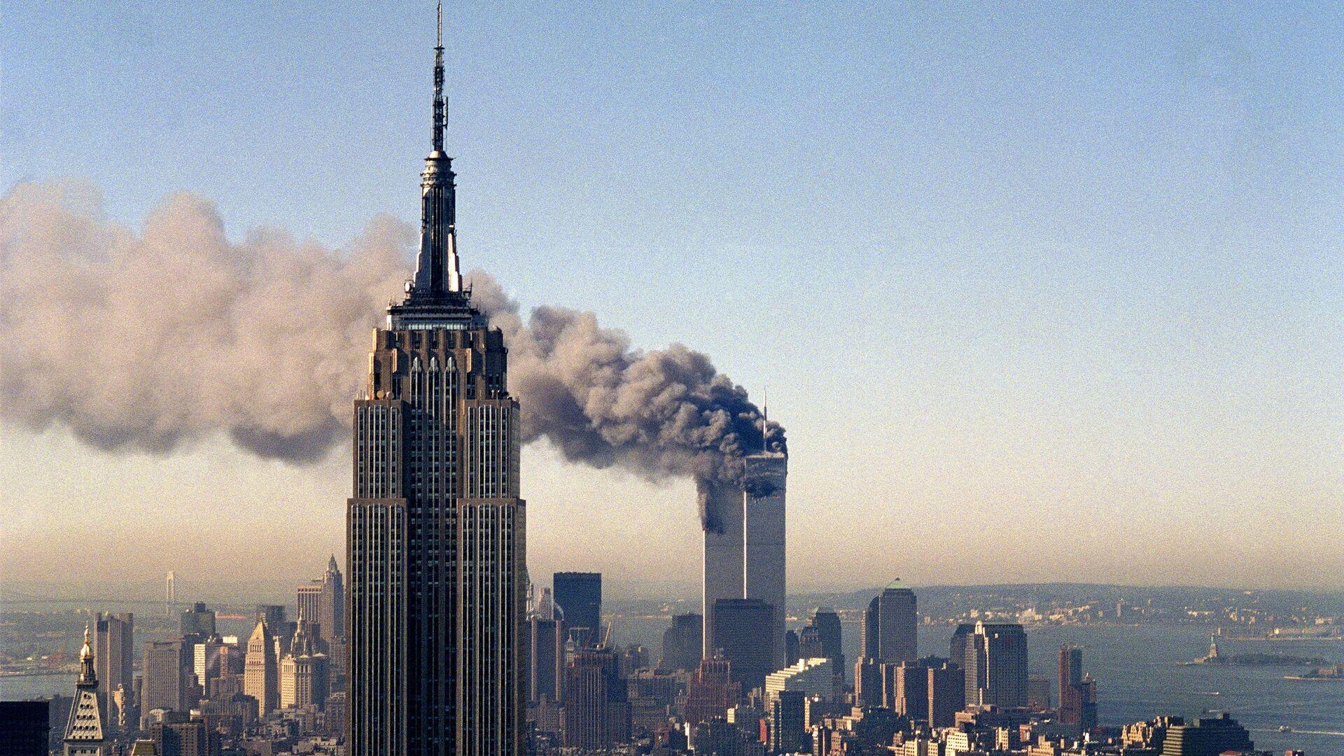 Терористички напад на Светски трговински центар у Њујорку 11. септембaра 2001. године  - Sputnik Србија, 1920, 12.09.2021
