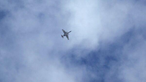 Avion iznad Sirije - Sputnik Srbija