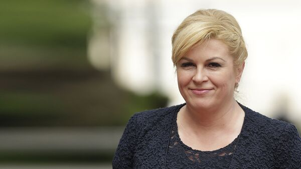 Kolinda Grabar Kitarović, predsednica Hrvatske - Sputnik Srbija