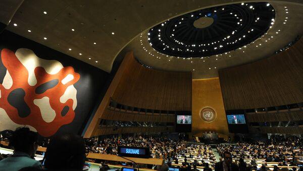 Sala Generalne skupštine UN - Sputnik Srbija
