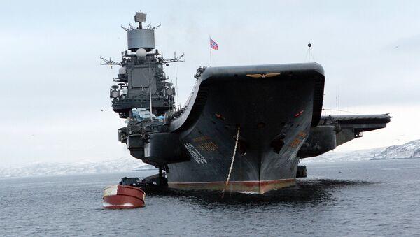 Nosač aviona Admiral Kuznjecov  - Sputnik Srbija