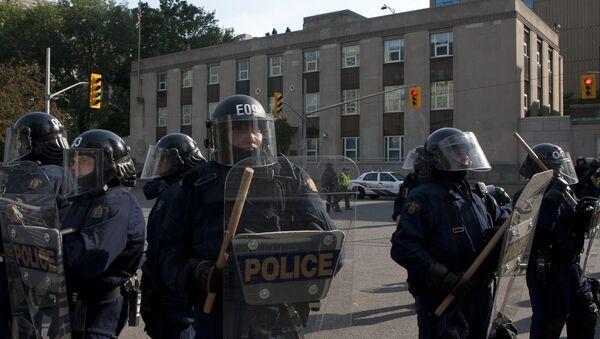 Kanadska policija - Sputnik Srbija