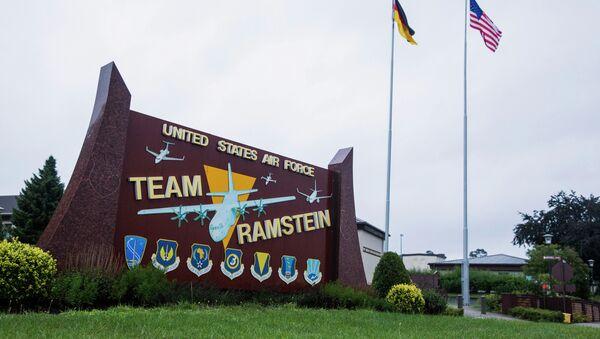 Američka avio-baza Ramštajn u Nemačkoj - Sputnik Srbija