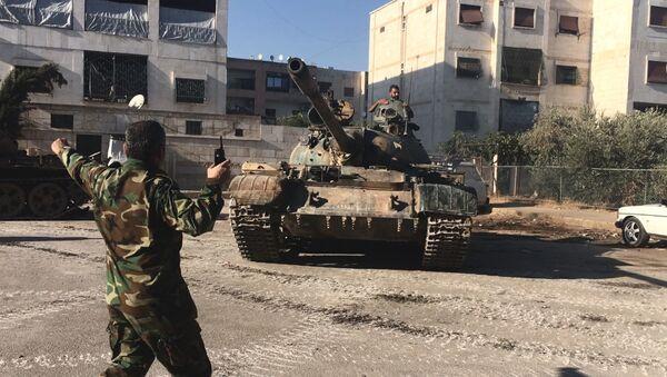 Сиријска војска на југозападу Алепа - Sputnik Србија