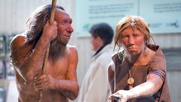 Праисторијски неандерталци у музеју у Немачкој - Sputnik Србија