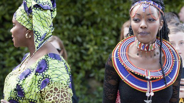 Afrička ženska mreža, takmičenje Najlepša Afrikanka u Dablinu, Irska. - Sputnik Srbija