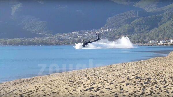 Ντοκουμέντο: Η πτώση του Απάτσι στην παραλία - Sputnik Србија