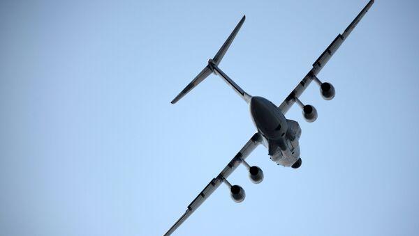Авион Ил-76МД-90А током тренажног лета пре Међународног сајма авијације у Жуковском - Sputnik Србија