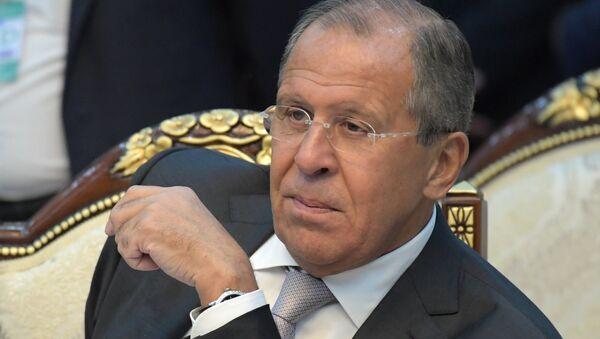 Министар спољних послова Русије Сергеј Лавров на заседању лидера СНГ у Бишкеку - Sputnik Србија