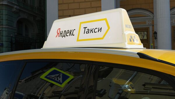 Automobil službe Jandeks-taksi u Moskvi - Sputnik Srbija