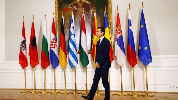 Austrijski kancelar Kristijan Kern. - Sputnik Srbija