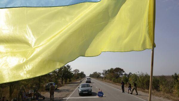 Granica Ukrajine i Krima - Sputnik Srbija