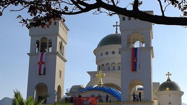 Osveštan Saborni hram Svetog Jovana Vladimira u Baru - Sputnik Srbija