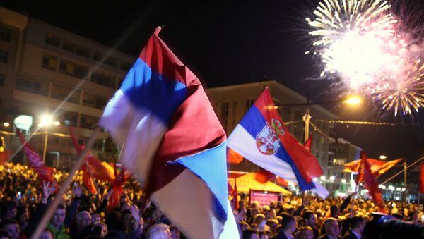 Славље у Бањалуци после референдума - Sputnik Србија