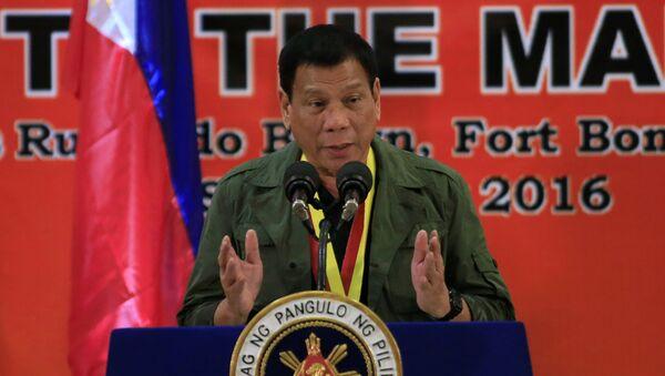 Predsednik Filipina Rodrigo Duterte - Sputnik Srbija