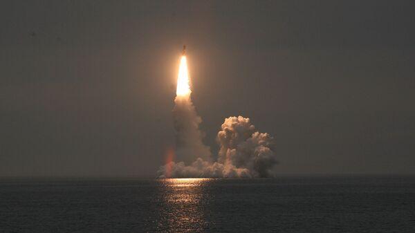 Lansiranje rakete Bulava - Sputnik Srbija