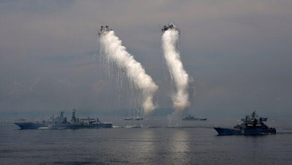 Brodovi ruske pacifičke flote - Sputnik Srbija