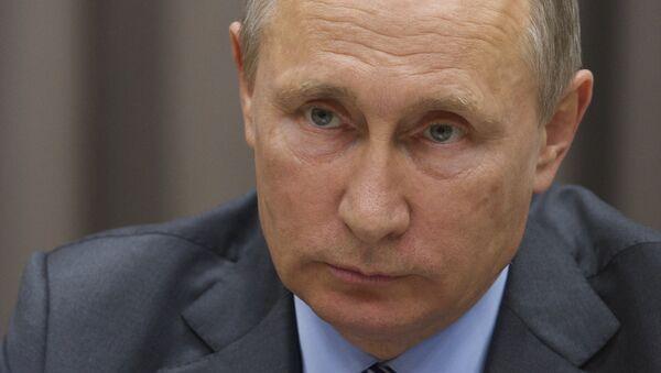 Predsednik Rusije Vladimir Putin tokom sastanka sa nemačkim vice kancelarom Zigmarom Gabrijelom u Moskvi - Sputnik Srbija