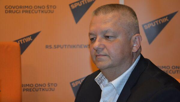 Šef Predstavništva Republike Srpske u Vašingtonu Obrad Kesić - Sputnik Srbija