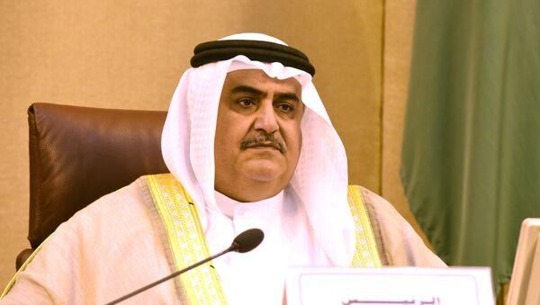 Ministar spoljnih poslova Bahreina Halid al-Halifa - Sputnik Srbija