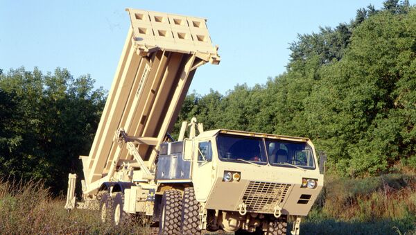 Američki PVO sistem THAAD - Sputnik Srbija