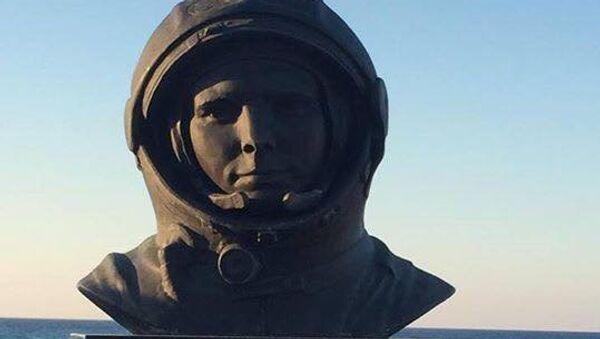 Споменик Јурију Гагарину на Криту - Sputnik Србија