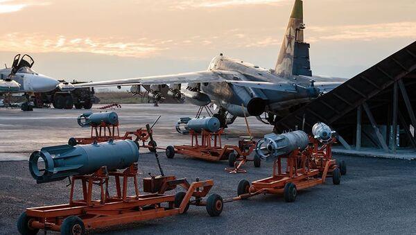 Руске ваздухопловне снаге у сиријској бази Хмејмим - Sputnik Србија