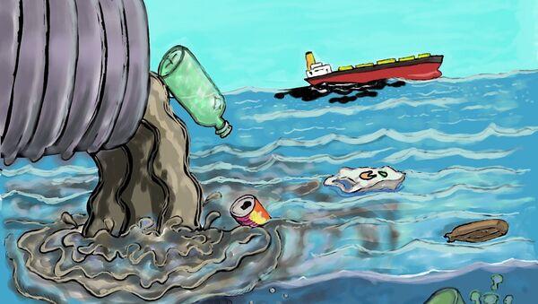 Zagađenje-ilustracija - Sputnik Srbija