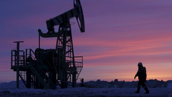 Радник на нафтном пољу компаније Башњефт у Башкортостану у Русији - Sputnik Србија