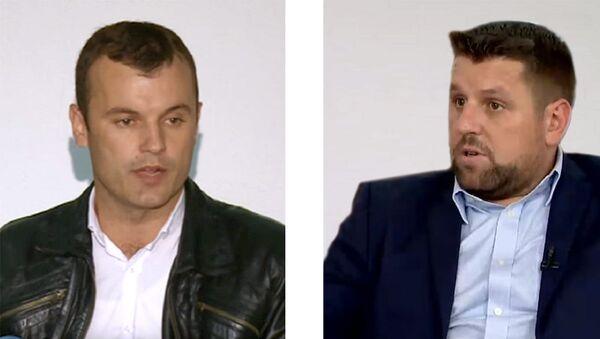 Младен Грујичић (лево) и Ћамил Дураковић - Sputnik Србија