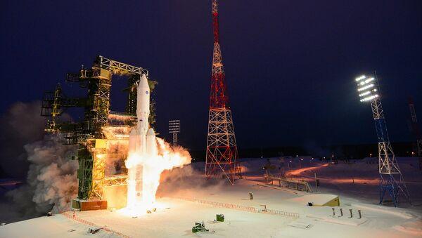 Russia's Angara-A5 rocket launched on maiden flight - Sputnik Srbija